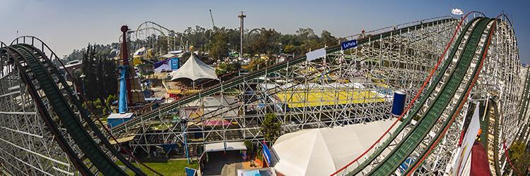 Dia De La Montana Rusa La Feria De Chapultepec Ciudad De Mexico