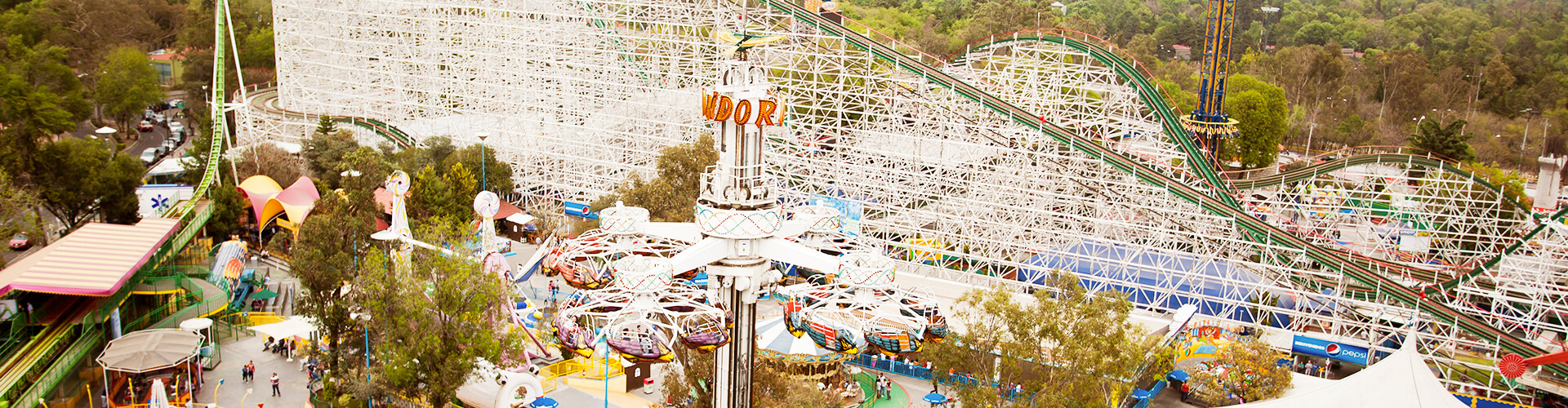 Diversiones Atracciones Y Juegos Mecanicos De La Feria De Chapultepec