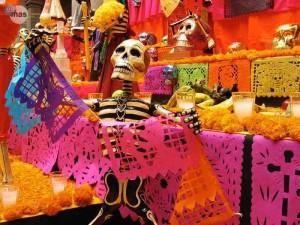 festival-dia-de-muertos-mexicana-papel-picado