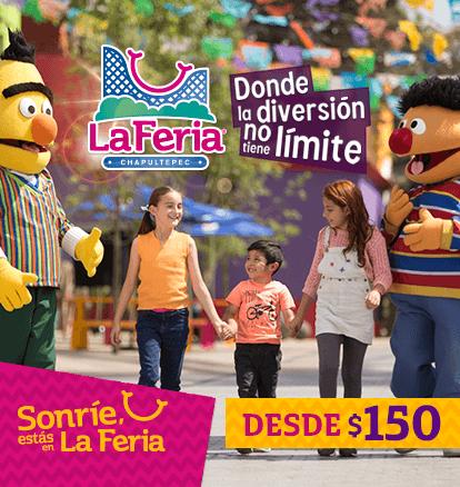 La Feria de Chapultepec desde 150 pesos
